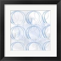 Framed Indigo Circles 2