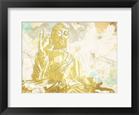 Framed Meditate Gold