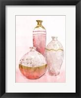 Framed Blush Vessels
