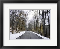 Framed Cold Long Road