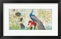 Framed Peacock Blue 1