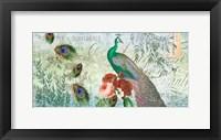 Framed Peacock Green 1