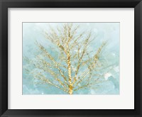 Framed Golden Tree 2