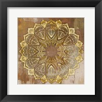 Framed Gold Mandala