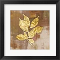 Framed Gold Leaves 2
