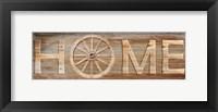 Framed Farm Home