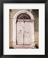 Framed Toned Vintage Door