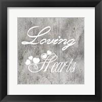 Framed Loving Hearts