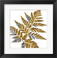 Framed Gold Paint