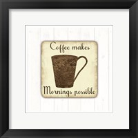 Framed Coffee Power