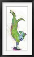 Framed Acrobat Dog