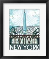 Framed New York View