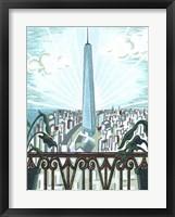 Framed New York View 2