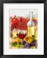 Framed Wine I