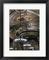 Framed Chandelier Opera