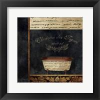 Framed Bathtub-Notes