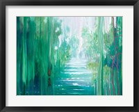 Framed Emerald Hart