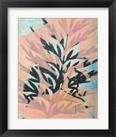 Framed Silk Oak