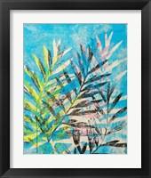 Framed Silk Oak's Reach