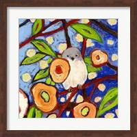 Framed Modern Bird IX