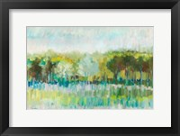 Framed Row of Trees