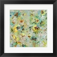 Framed Scattered Flowers