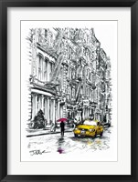 Framed Fire Escapes Study