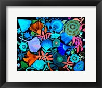 Framed Night Garden