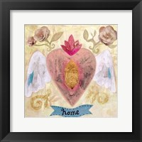 Framed Home Heart