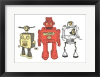 Framed Three Robots