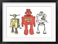 Framed Three Robots