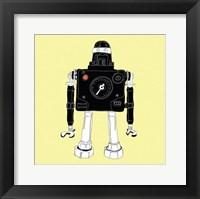 Framed Ninja Robot