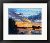 Framed Sunset