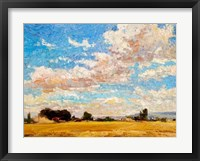 Framed August Harvest