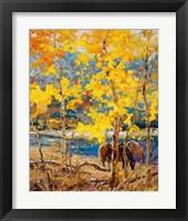 Framed Fall Grazing