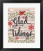 Framed Glad Tidings