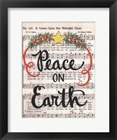 Framed Peace on Earth