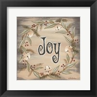 Framed Jingle Joy Wreath