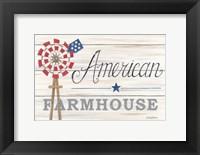 Framed American Farmhouse
