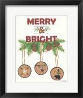 Framed Merry & Bright
