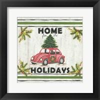 Framed VW Holiday