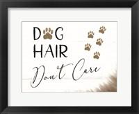 Framed Dog Hair, Don't Care