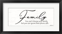 Framed Family Calls