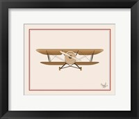 Framed Airplane Sign 2