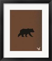 Framed Woodland Bears 1