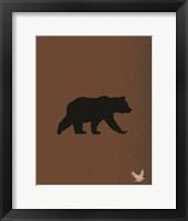 Framed Woodland Bears 2