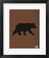 Framed Woodland Bears 3