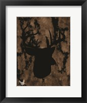 Framed Woodland Buck 1