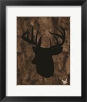Framed Woodland Buck 3