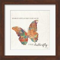 Framed Butterfly